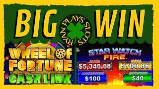 3 Majors Won • Wheel of Fortune Cash Link Latin Getaways and Star Watch Fire •