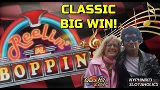 REELIN' n BOPPIN' BIG Slot Bonus WIN!!
