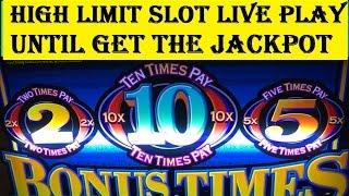 High Limit Slot Live Play•Until get the Jackpot! Handpay Max Bet $15/Special Edition Harrah's Ca.