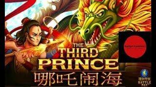 LIGHTNING LINK & THE THIRD PRINCE ~ Free Spin Battle Bonus ~ Big Win ~ Live Slot Play @ San Manuel