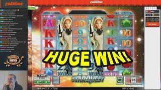 HUGE WIN on Star Quest Slot - £5 Bet