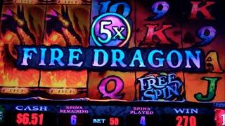 Star Dragon Slot Machine - 2 Bonuses - Free Spins Win with Dragon Multipliers
