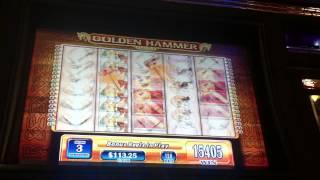 Hammer slot machine