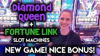Trying the NEW Fortune Link Slot Machine! Great BONUS!