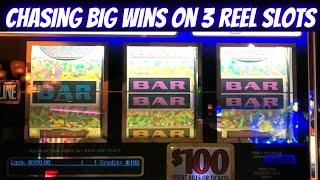 Up To $100 A Spins On 3 Reel High Limit Slot Machines | High Limit Slot Play At Casino | SE 5| EP-16