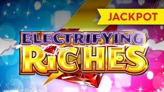 JACKPOT HANDPAY! Electrifying Riches Slot - $15 MAX BET, YEAH!!!