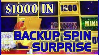• $1000 in GOLD Bonanza • • Double Ending! • Slot Machine Pokies w Brian Christopher at San Manuel