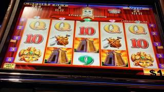 JACKPOT HANDPAY $5 BET HIGH LIMIT Temple of Riches - FULL SCREEN SLOT HIT!