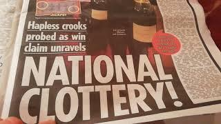 A •£4 Million Scratchcard Winner on £10 card.•.Wow!..they beat the odds of 4,019,579 to1