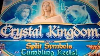 Crystal Kingdom Slot - $8 Max Bet- LIVE PLAY Bonus!