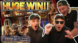 HUGE WIN!!! DEAD OR ALIVE 2 BIG WIN - BONUS BUY ON 4.5€ STAKE ON CASINO SLOT