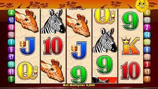 MR CASHMAN AFRICAN DUSK Video Slot Casino Game with a CASHMAN CHANGES REELS BONUS