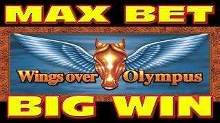 Wings Over Olympus MAX BET&RETRIGGER Slot Machine BIG WIN