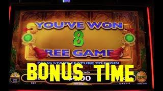 Long Teng Hu Xiao Live Play 10 cent denom with BONUS and NICE WIN Slot Machine