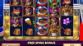 FREAKI TIKI 2 Video Slot Game with a FREAKI TIKI 2 FREE SPIN BONUS