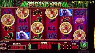"""March 26 Part 3 """"Super Big Win 50 free Spins Bonus""""•New Slot•Great Tiger Slot Max Bet $3 Barona"""