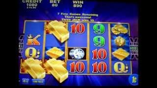 Stack of Gold Bonus ( Buffalo Concept ) - 1c Aristocrat Video Slots