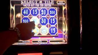 Carnival of Mystery slot machine bonus win
