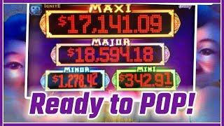 • These HIGH LIMIT Progressives are READY TO POP! • Slot Machine Pokies w Brian Christopher