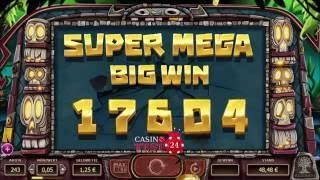 Yggdrasil Big Blox Slot - 4 Linked Reels 1,25€ BET  - HUGE MEGA BIG WIN!