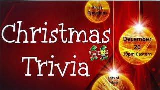 PJ's Christmas Trivia Special
