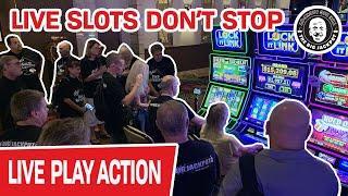 ★ Slots ★ Still LIVE at a REAL CASINO ★ Slots ★ LIVE Slots Don't STOP