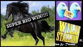 •SUPER BIG WIN•  • Wild Stallion - Slot Machine Bonus