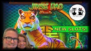 NEW SLOTS! • JINSE DAO TIGER • ATHENA UNLEASHED •