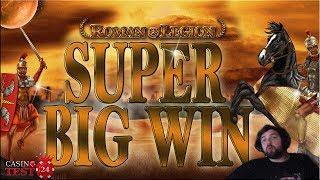 SUPER BIG WIN on Roman Legion - Bally Wulff Slot - 1€ BET!