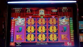 Fortunes of the Orient Slot Machine Bonus - Mirror Reels Feature - Free Spins, Nice Win