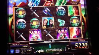 Lord of the Rings Win at Harrahs Casino - Chester, PA