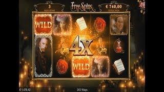 The Phantom Of The Opera Slot BIG WIN (7.50€ Bet)