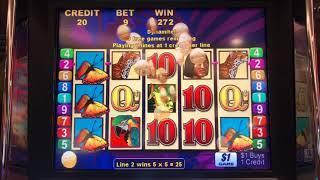 Brazil - 9 Line Mini Boom 4 Fish Bonus on Brian of Denver Slots