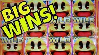 BIG WINS! - I LOVE PAC-MAN!