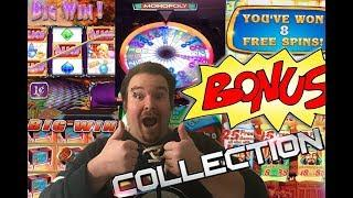 A Collection of Slot Machine Bonus Rounds and Huge Wins Vol. 8
