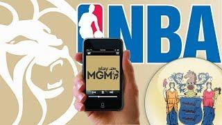 The NBA, MGM and Mobile Sports Betting