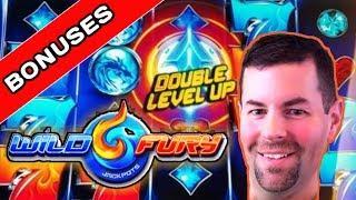 Wild Fury Slot Machine Elusive Bonuses | Great Level Ups | Extra Spins