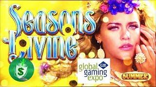 #G2E2017 Everi - Siren's Call, Seasons Divine, and Fu Xuan slot machines