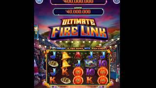 "ULTIMATE FIRE LINK Video Slot Casino Game with a ""HUGE WIN"" FREE LINK BONUS"