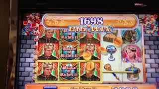 Palace of Riches II Jackpot Handpay! (HD REPOST, WAY BETTER!)