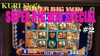 •SUPER BIG WIN• KURI Slot's Super Big Win Special Part 2 •5 Slot machine games• Must see it !