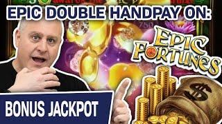 ⋆ Slots ⋆ EPIC Double Handpay Playing EPIC Fortunes Slots ⋆ Slots ⋆ $50 Spins at The Lodge Casino