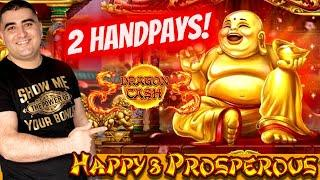 ⋆ Slots ⋆2 HANDPAY JACKPOTS⋆ Slots ⋆ On Dragon Cash Slot Machine   Las Vegas Casino JACKPOTS    SE-9