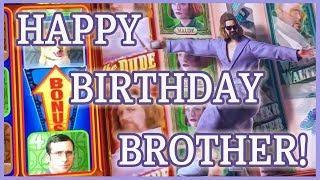 • Leap Year • Birthday Slots for my BRO • • Slot Fruit Machine Pokies w Brian Christopher