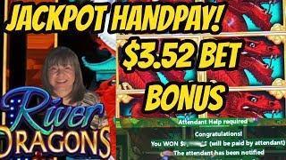 JACKPOT HANDPAY! 192 SPIN BONUS-$3.58 BET