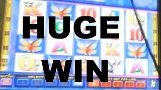 ENORMOUS JACKPOT!!! Butterfly Kiss Slot Machine