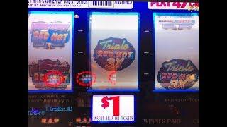 Big Win & Jackpot•Triple Cash - Triple Double Butterfly - 2x3x4x5 Super Times Pay @ Pechanga アカフジ