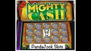 Full screen DOUBLE WINS on Mighty Cash•️