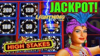 HIGH LIMIT Lightning Link High Stakes HANDPAY JACKPOT ⋆ Slots ⋆️$50 Bonus Round Slot Machine Casino Nice Win