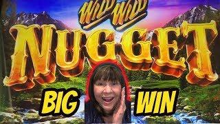 I FOUND GOLD! BIG WIN BONUS-WILD WILD NUGGET